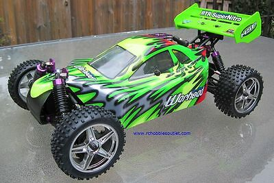 RC NITRO Buggy / Car  HSP WARHEAD 2 Speed 2.4G 1/10 Scale 10707 S