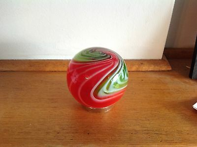 Hand blown Glass Friendship Ball  best friend or good friend gift no 66