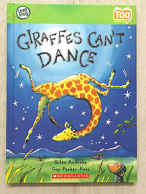 Leapfrog Tag - Giraffes Can't Dance Book - Good Condition