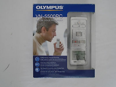 Olympus Digital Voice Recorder Dictaphone VN-5500PC Boxed USB