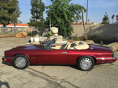 1996 Jaguar XJS XJS CONVERITBLE JAGUAR XJS CONVERTIBLE MOROCCO RED AMAZING CONDITION SOUTHERN CALIFORNIA BEAUTY