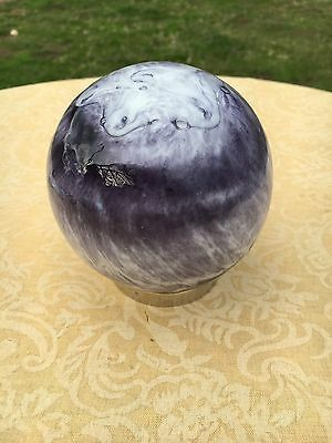 Hand blown Glass Friendship Ball  best friend or good friend gift no 90