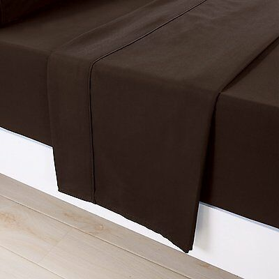 Bed Sheet Set 4 Piece 1500 Thread Count 100% Egyptian Cotton Queen Chocolate