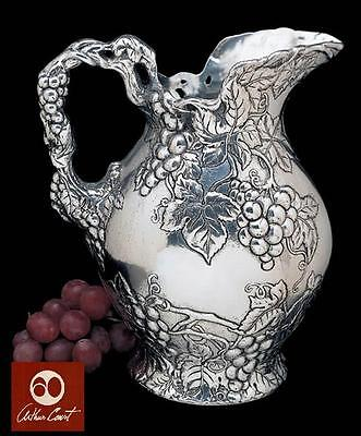NEW IN BOX AUTHENTIC ARTHUR COURT GRAPE PITCHER HOLDS APPROX 2-3/4 qt. FREE SHIP