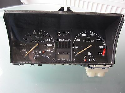 golf gti mk2 speedo instrument cluster VDO later type with one connector