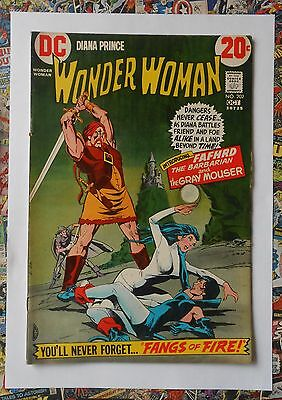 Wonder Woman #202 - Oct 1972 - Catwoman Appearance! - Fn (6.0) Hot!!