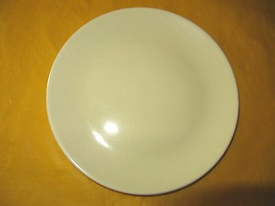 """BRANKSOME Light YELLOW SIDE PLATE dia 6.5""""  firing marks&cutlery marks"""