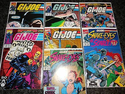 G.I. Joe, A Real American Hero #106 - #137 (seven issue lot)