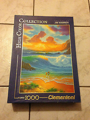 Puzzle 1000 Pieces Jim Warren Clementoni High Collection