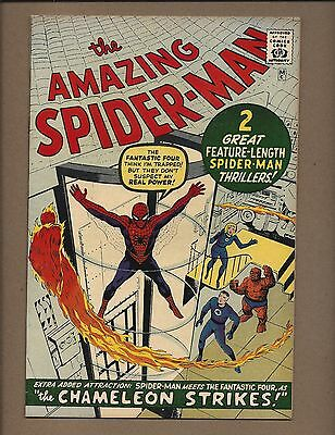 Amazing Spider-Man #1 (1966 Gold Record Reprint)  FN