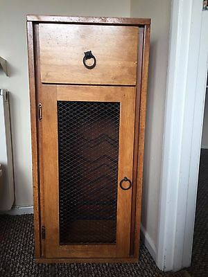 Antique RARE ! solid wood wine cabinet