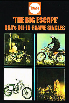 The Big Escape Dvd Bsa Triumph B25 B50 T25 Stephen Mettam Mead & Tomkinson