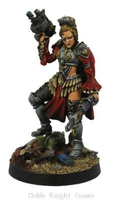 Kromlech Sci-Fi Mini 28mm Inquisitor Ingrid von Schwarzheim Pack MINT