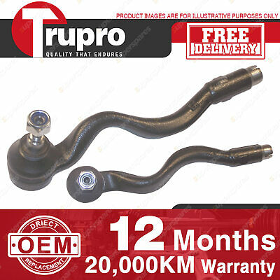 2 Pcs Trupro LH+RH Outer Tie Rod Ends For BMW E36 3 SERIES 90-00