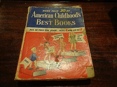 Antique/vintage book More than 30 of American Childhood's Best Books childrens