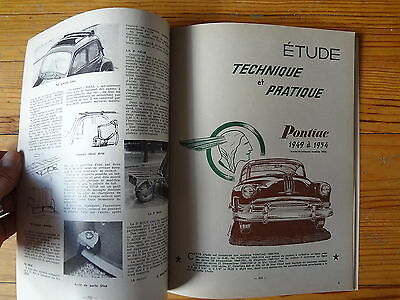 RTA Revue Technique Automobile  n° 112 - PONTIAC 1949 à 1954 - 1955