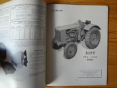 RTA Revue Technique Automobile  n° 77 - Tracteur SIFT - 1952