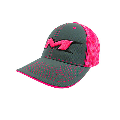 Miken Hat by Pacific (404M) CHARCOAL/PINK/CHAR/BLACK/PNK SM/MD (6 7/8- 7 3/8)