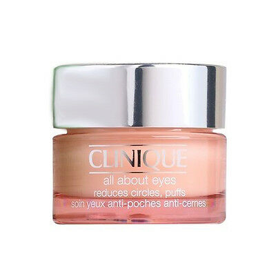 Clinique All About Eyes Eye Cream Diminishes Circles/Puffs/Lines 15ml Brand New