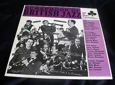 SCRAPBOOK OF BRITISH JAZZ 1927-1956 MONO LP. Ace Of Clubs ACL 1105.