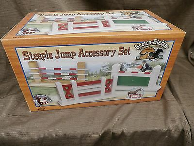 Steeple Jump Accessory Set fit Traditional Breyer Horses Groton Stables 81015