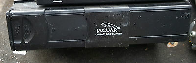 Jaguar X-Type 6 Disc Cd Multi Changer Player Complete With Cassette