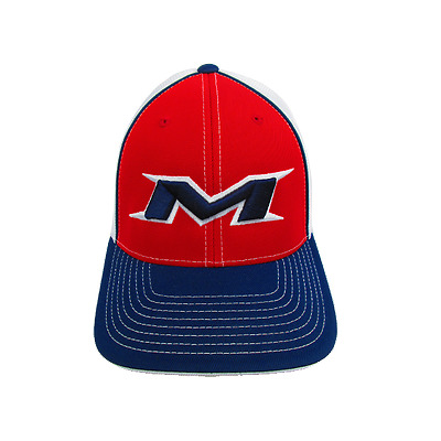Miken Hat by Pacific (404M) Navy/White/Red/White/Navy LG/XL (7 3/8- 8)