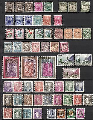 Andorra 1931-1971 French stamps. Very nice selection. See scan for condition