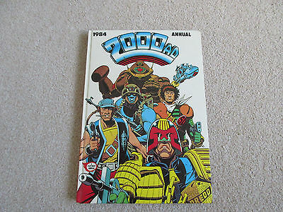 2000AD ANNUAL 1984-unclipped and in very good condition