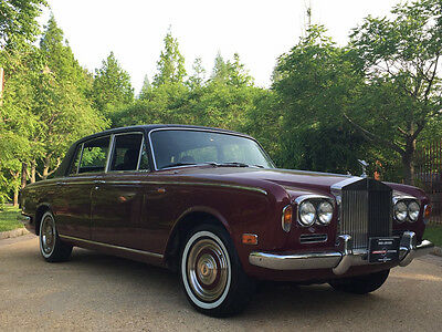 1972 Rolls-Royce Silver Shadow  vintage rolls royce free shipping unrestored collector 1 owner classic