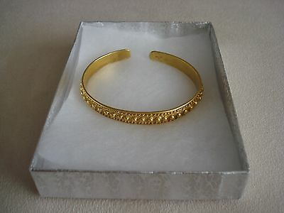 Precolumbian Replica Bracelet 24K Gold Plated Colombian Galeria Cano Jewelry
