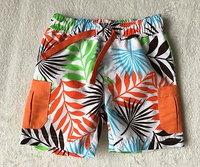 ***Mini Club baby boys Tropical swimming shorts 18-24 months (1,5-2 y) VGC***
