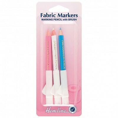 Hemline H294.C Dressmaker Pencils with Brush