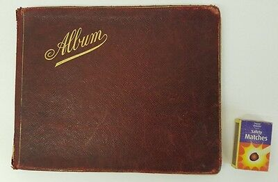 Large Vintage Autograph Sketch Book Album With Plenty Of Pictures & Poems