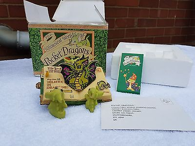 Whimsical world of pocket dragons. Believe in dragons -  by Real Musgrave RARE