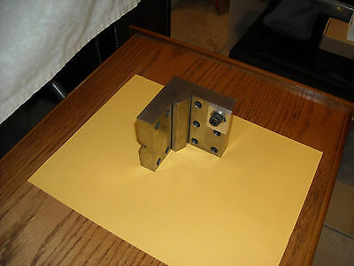 "Precision Toolmakers   Angle Plate  3""x3""x3"" in good condition."