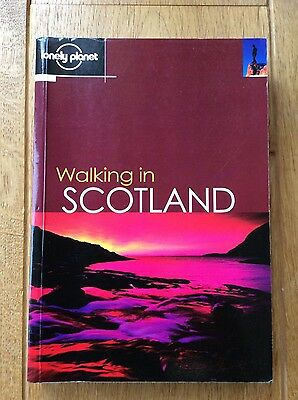 Walking in Scotland- Lonely Planet 1sr edition