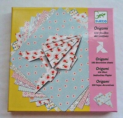 Origami Paper !00 Decorative Sheets