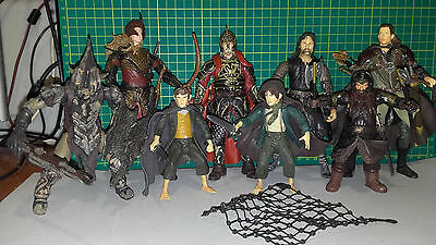 Lord Of The Ring Action Figures Lot 6´´ approx (8 Characters)