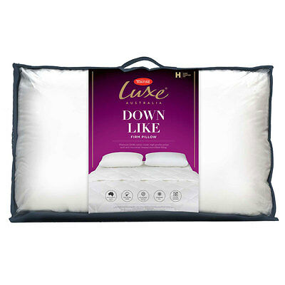 Tontine Luxe Down Like Support Pillow High Profile Firm Feel