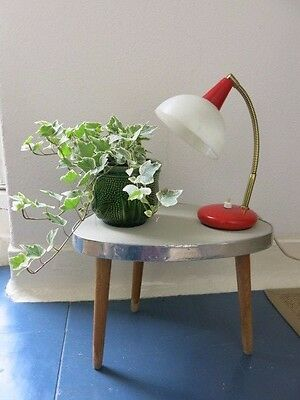 Vintage 20th Century Tripod Plant Table East German Mid Century Plant Stand
