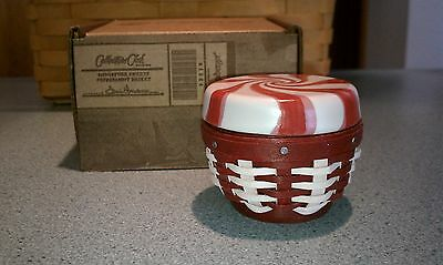 Longaberger Collector's Club 2012 Miniature Sweets Peppermint Basket NEW in box