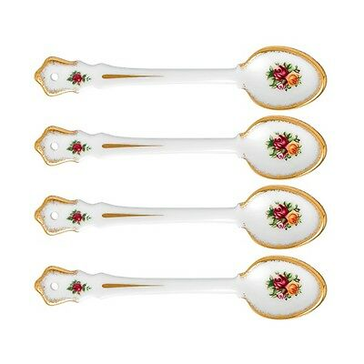 Royal Albert Old Country Roses Set of 4 Spoons 15cm