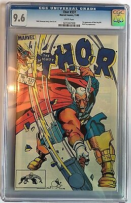 Thor 337 1st app. Beta Ray Bill - Simonson art-CGC 9.6 NM/MT Superb Copy