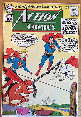 Action Comics #277 Superman Supergirl And Krypto Cover Fn (6.0)