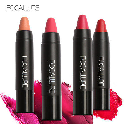 FOCALLURE Matte Lipstick Waterproof Long Lasting Beauty Makeup Crayon