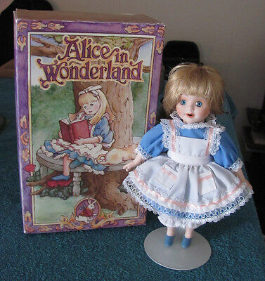 Alice in Wonderland  Marie Osmond Storybook Dolls 1998 Original Box Lmtd Ed.