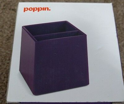 New Poppin Purple PEN CUP square Modern Look