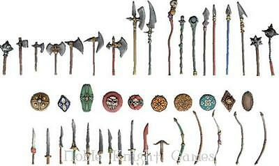 Fenryll Fantasy Mini Resin 28mm Weapons Pack Pack MINT