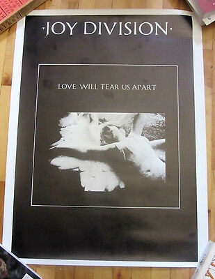 Joy Division Love Will Tear Us Appart Uk Vintage Poster 1979